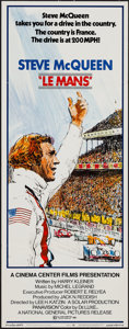 "Movie Posters:Sports, Le Mans (National General, 1971). Insert (14"" X 36""). Sports.. ..."