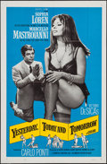 """Movie Posters:Foreign, Yesterday, Today and Tomorrow (Embassy, 1964). One Sheet (27"""" X 41""""), Lobby Card Set of 4 (11"""" X 14"""") & Uncut Pressbook (10 ... (Total: 6 Items)"""