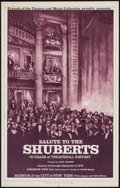 "Movie Posters:Animated, Salute to the Shuberts (Museum of the City of New York, 1976).Window Card (14"" X 22""). Theater.. ..."
