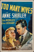 "Movie Posters:Comedy, Too Many Wives (RKO, 1937). One Sheet (27"" X 41""). Comedy.. ..."