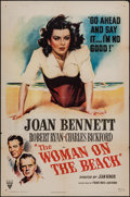 "Movie Posters:Film Noir, The Woman on the Beach (RKO, 1947). One Sheet (27"" X 41""). Film Noir.. ..."