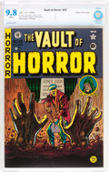 Golden Age (1938-1955):Horror, Vault of Horror #15 Gaines File pedigree 2/10 (EC, 1950) CBCS NM/MT9.8 White pages....