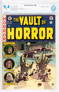 Golden Age (1938-1955):Horror, Vault of Horror #26 Gaines File pedigree 4/11 (EC, 1952) CBCS NM9.4 White pages....