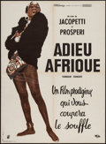 "Movie Posters:Documentary, Africa Addio (Inter France, 1966). French Affiche (23"" X 31""). Documentary.. ..."