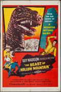 "Movie Posters:Science Fiction, The Beast of Hollow Mountain (United Artists, 1956). One Sheet (27"" X 41""). Science Fiction.. ..."