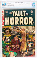 Golden Age (1938-1955):Horror, Vault of Horror #30 Northford pedigree (EC, 1953) CBCS NM 9.4Off-white to white pages....