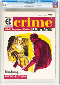 Magazines:Crime, Crime Illustrated #2 Gaines File pedigree 7/12 (EC, 1956) CGC NM+9.6 Off-white to white pages....
