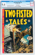 Golden Age (1938-1955):War, Two-Fisted Tales #33 Gaines File pedigree 11/12 (EC, 1953) CGC NM 9.4 Off-white pages....