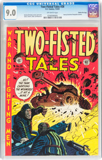 Two-Fisted Tales #28 Gaines File pedigree 10/10 (EC, 1952) CGC VF/NM 9.0 Off-white pages