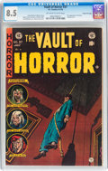 Golden Age (1938-1955):Horror, Vault of Horror #37 Gaines File pedigree 6/12 (EC, 1954) CGC VF+8.5 Off-white to white pages....