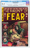 Golden Age (1938-1955):Horror, Haunt of Fear #26 Gaines File pedigree 5/12 (EC, 1954) CGC VF+ 8.5Off-white to white pages....