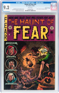 Golden Age (1938-1955):Horror, Haunt of Fear #24 Gaines File pedigree 4/12 (EC, 1954) CGC NM- 9.2White pages....