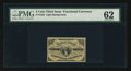 Fractional Currency:Third Issue, Fr. 1226 3¢ Third Issue PMG Uncirculated 62.. ...