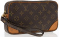 "Luxury Accessories:Accessories, Louis Vuitton Marly Dragonne Monogram Canvas Pouch. Good.Dimensions: 8.5"" Width x 5"" Height x 1.5"" Depth. ..."