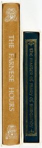 Books:Religion & Theology, Webster Smith, editor. The Farnese Hours. New York: George Braziller, [n.d.]. Reproduced from the Illuminated Manusc... (Total: 2 Items)