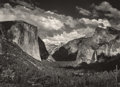 Photographs, ANSEL ADAMS (American, 1902-1984). Group of Three Photographs: View from Tunnel Esplanade, View from Tunnel Esplanade, a...