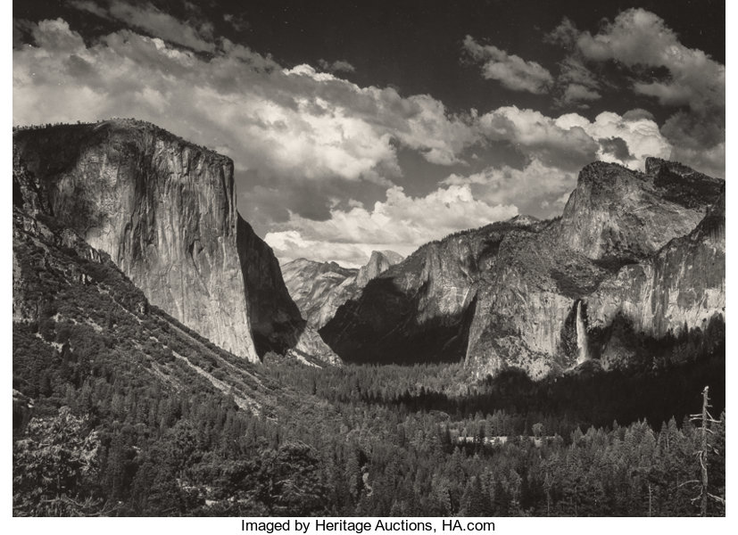 natural light photography by ansel adams 1977 04 01