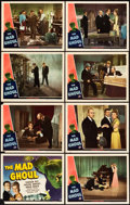 """Movie Posters:Horror, The Mad Ghoul (Universal, 1943). Lobby Card Set of 8 (11"""" X 14"""")..... (Total: 8 Items)"""