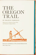 Books:Americana & American History, Maynard Dixon, illustrations. SIGNED/LIMITED. Francis Parkman.The Oregon Trail. New York: The Limited Editions Club...