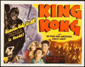 "Movie Posters:Horror, King Kong (RKO, R-1942). Title Lobby Card (11"" X 14"").. ..."