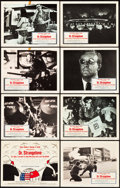 """Movie Posters:Comedy, Dr. Strangelove or: How I Learned to Stop Worrying and Love the Bomb (Columbia, 1964). Lobby Card Set of 8 (11"""" X 14"""").. ... (Total: 8 Items)"""
