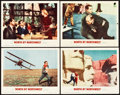 "Movie Posters:Hitchcock, North by Northwest (MGM, 1959). Lobby Cards (4) (11"" X 14"").. ...(Total: 4 Items)"
