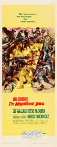 "Movie Posters:Western, The Magnificent Seven (United Artists, 1960). Insert (14"" X 36"")....."