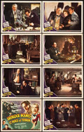 "Movie Posters:Crime, Sherlock Holmes and the Voice of Terror (Universal, 1942). LobbyCard Set of 8 (11"" X 14"").. ... (Total: 8 Items)"