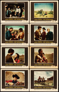 """The Searchers (Warner Brothers, 1956). Lobby Card Set of 8 (11"""" X 14""""). ... (Total: 8 Items)"""
