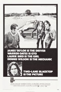 "Movie Posters:Drama, Two-Lane Blacktop (Universal, 1971). One Sheet (27"" X 41"") &Lobby Card Set of 8 (11"" X 14"").. ... (Total: 9 Items)"