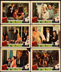 """Movie Posters:Comedy, At the Circus (MGM, 1939). Lobby Cards (6) (11"""" X 14"""").. ...(Total: 6 Items)"""