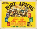 "Movie Posters:Western, Fort Apache (RKO, 1948). Title Lobby Card (11"" X 14"").. ..."