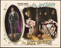 "Movie Posters:Musical, The Jazz Singer (Warner Brothers, 1927). Lobby Card (11"" X 14"").. ..."