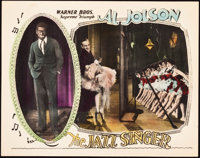 """The Jazz Singer (Warner Brothers, 1927). Lobby Card (11"""" X 14"""")"""
