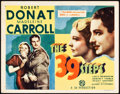 "Movie Posters:Hitchcock, The 39 Steps (Gaumont, 1935). Title Lobby Card (11"" X 14"").. ..."