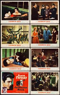 "Jailhouse Rock (MGM, 1957). Lobby Card Set of 8 (11"" X 14""). ... (Total: 8 Items)"