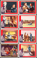 "Movie Posters:Science Fiction, The Day the Earth Stood Still (20th Century Fox, 1951). Lobby Card Set of 8 (11"" X 14"").. ... (Total: 8 Items)"