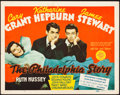 "Movie Posters:Comedy, The Philadelphia Story (MGM, 1940). Title Lobby Card (11"" X 14"").. ..."