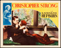 "Movie Posters:Drama, Christopher Strong (RKO, 1933). Lobby Card (11"" X 14"").. ..."