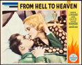 """Movie Posters:Drama, From Hell to Heaven (Paramount, 1933). Lobby Card (11"""" X 14"""").. ..."""