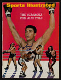"Boxing Collectibles:Autographs, 1967 Muhammad Ali Signed ""Sports Illustrated"" Magazine...."