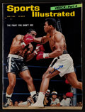 """Boxing Collectibles:Autographs, 1965 Muhammad Ali Signed """"Sports Illustrated"""" Magazine...."""