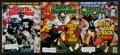 """Football Collectibles:Publications, Tony Rice Signed """"Sports Illustrated"""" Magazines Lot of 3...."""