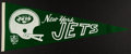 Football Collectibles:Others, 1967 New York Jets Pennant....