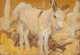 LEON GASPARD (Russian/American, 1882-1964) Burro Oil on panel 4-3/4 x 7 inches (12.1 x 17.8 cm) Signed lower left: