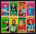 Football Cards:Sets, 1965 Topps Football Starter Set (39/176) With 19 Single Prints. ...