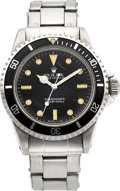 Timepieces:Wristwatch, Rolex Ref. 5513 Oyster Perpetual Submariner, circa 1963. ...