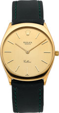 Timepieces:Wristwatch, Rolex Ref. 4133 Yellow Gold Cellini. ...