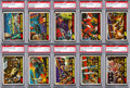 Non-Sport Cards:Lots, 1962 Topps Mars Attacks High Grade Collection (63). ...