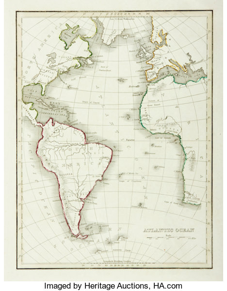 Maps]. [Slavery]. Engraved Map Depicting The Atlantic Ocean ... on map of europe 1900, map of europe 1870, map of europe 1890, map of europe in 1865, map of europe 1840, map of europe 1944, map of europe 1800, map of europe 1875, map of europe 1912, map of europe 1946, map of europe in 1871, map of europe 1850, map of europe bodies of water, map of europe 1914, map of europe world war ii, map of europe 1880, map of europe 1805, map of europe 1938, map of europe 1648, map of europe 1939,
